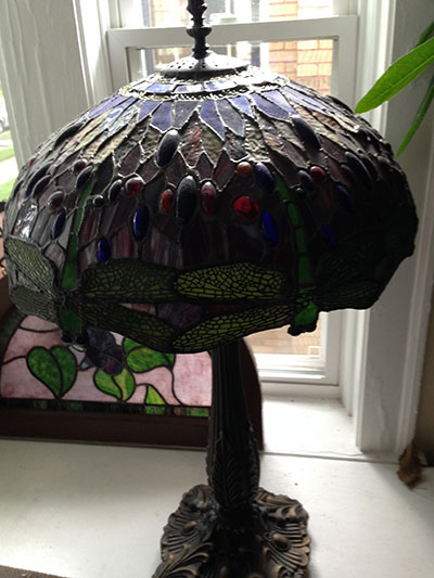 Dragon fly lamp shade