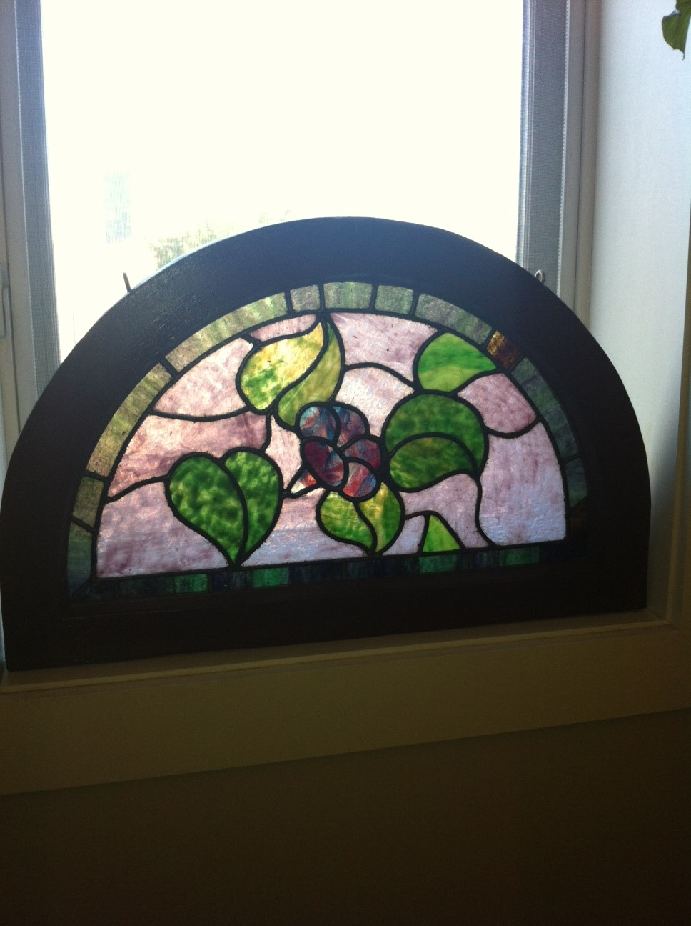 Arched Window Beautifully Restored