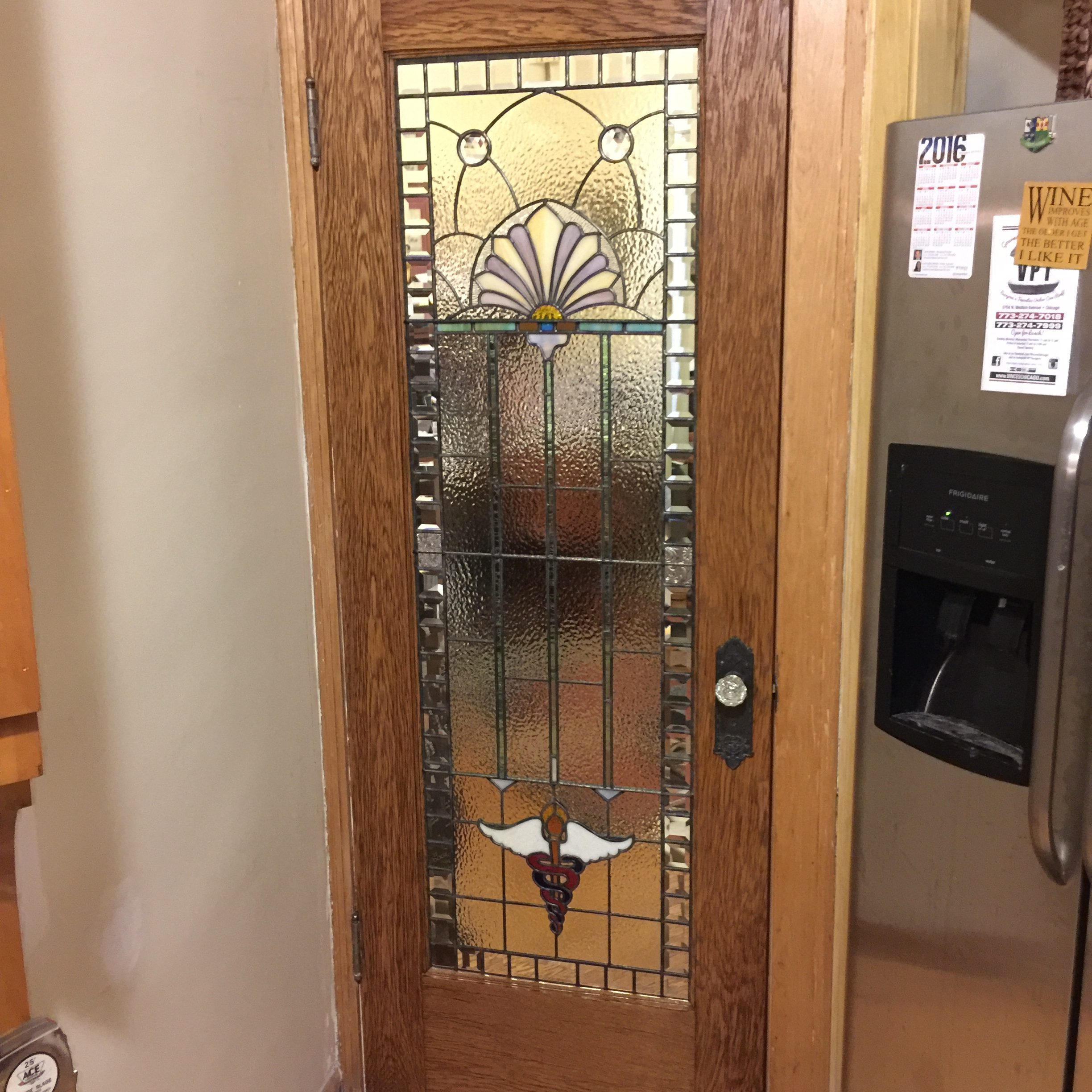 customized interior door